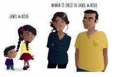 Recherches personnages livre jeunesse