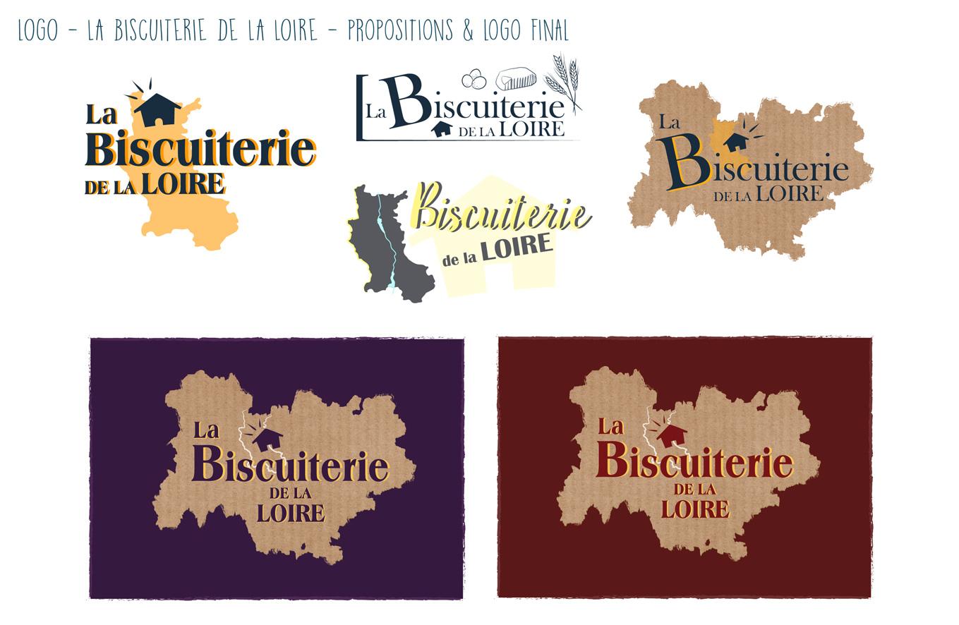 Logo La Biscuiterie de la Loire
